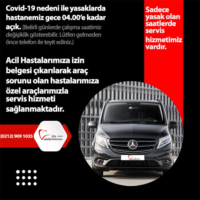 Covid-19 servis hizmeti